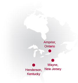 Polymeric Resources Corporation Locations
